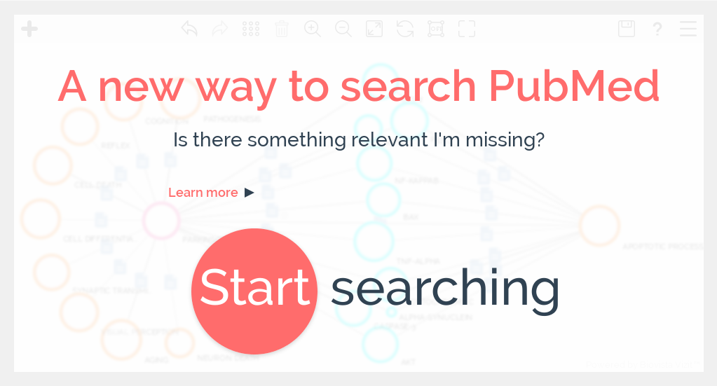 Vizit: a visual bibliographic search tool based on PubMed