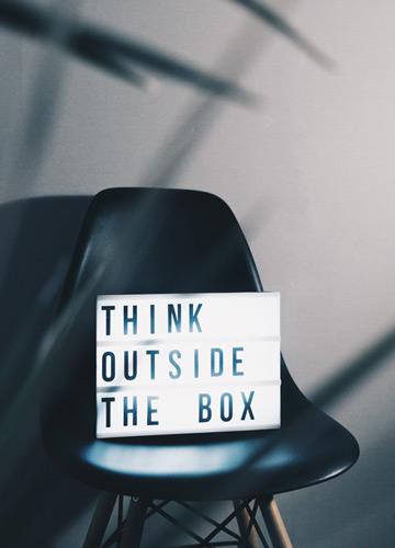 Vizit thinking outside the box